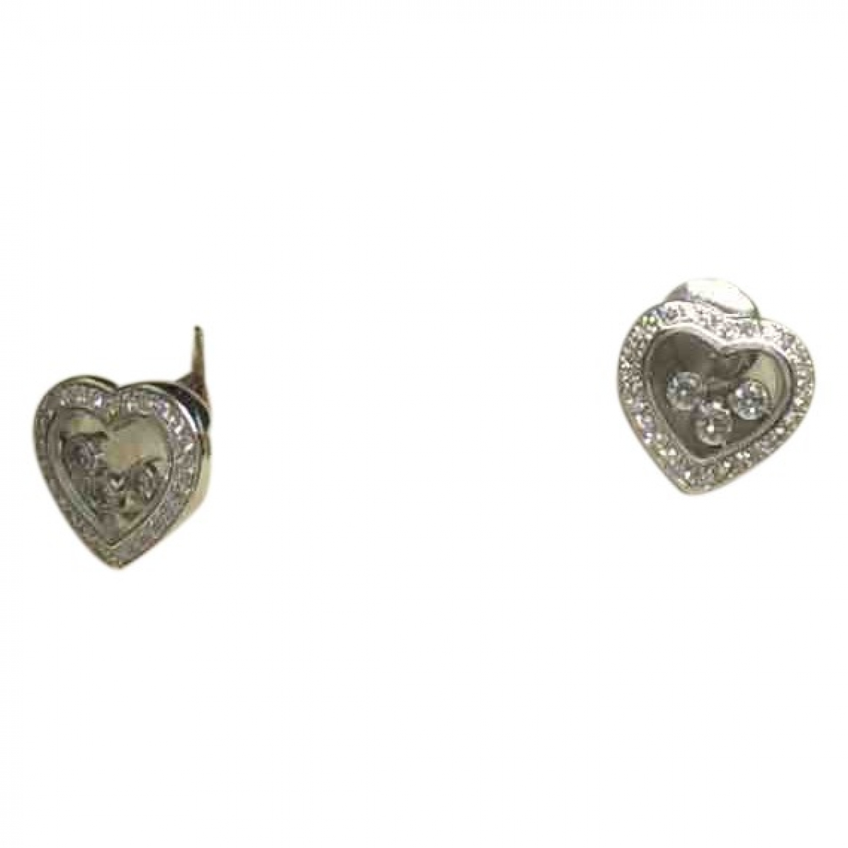 Chopard Happy Diamonds Silver White gold Earrings for Women \N