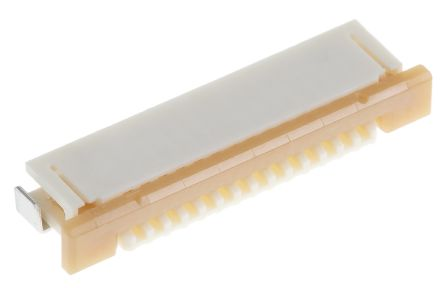 Molex Easy-On 52271 Series 1mm Pitch 14 Way Right Angle SMT Female FPC Connector, ZIF Bottom Contact (10)