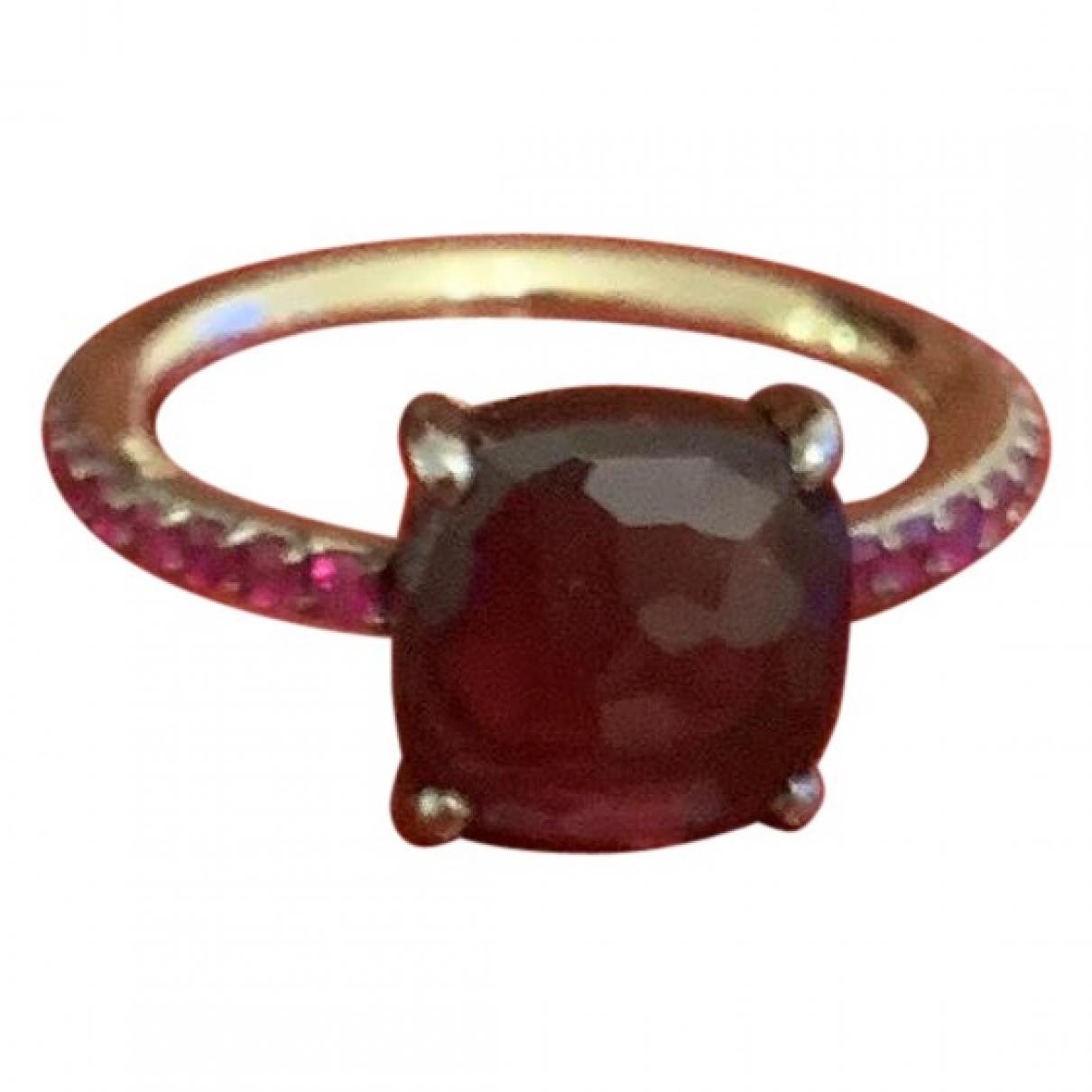 Pomellato - Bague Baby pour femme en or blanc - rose