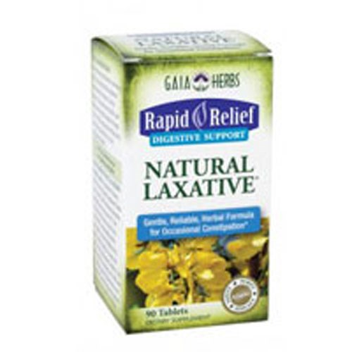 Natural Laxative 90 Tabs by Gaia Herbs