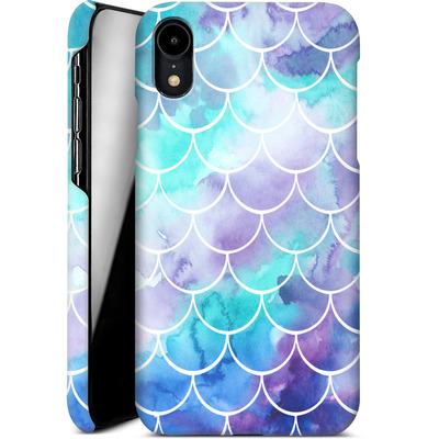 Apple iPhone XR Smartphone Huelle - Purple Mermaid Scales von Becky Starsmore