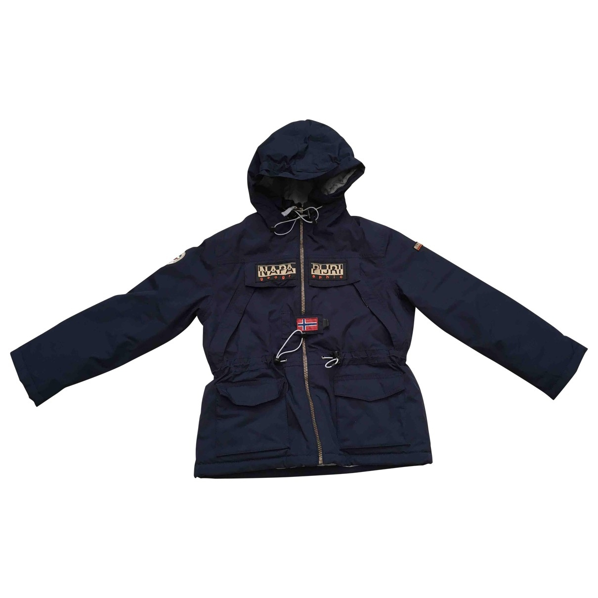Napapijri - Blousons.Manteaux   pour enfant - marine