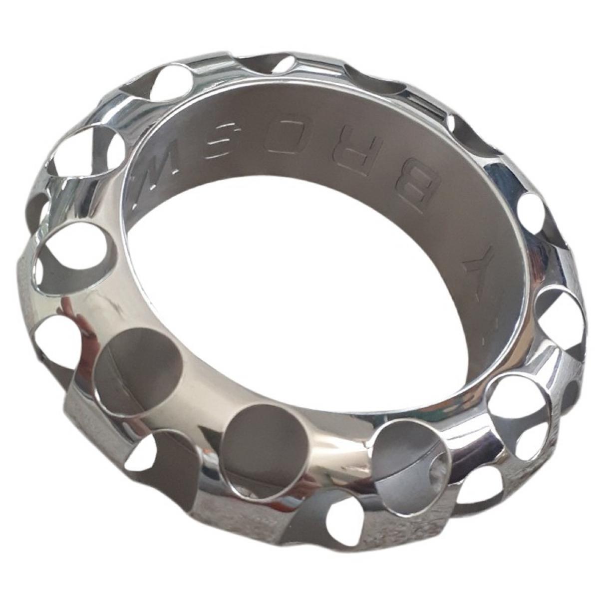 - Bracelet   pour femme en acier - metallise