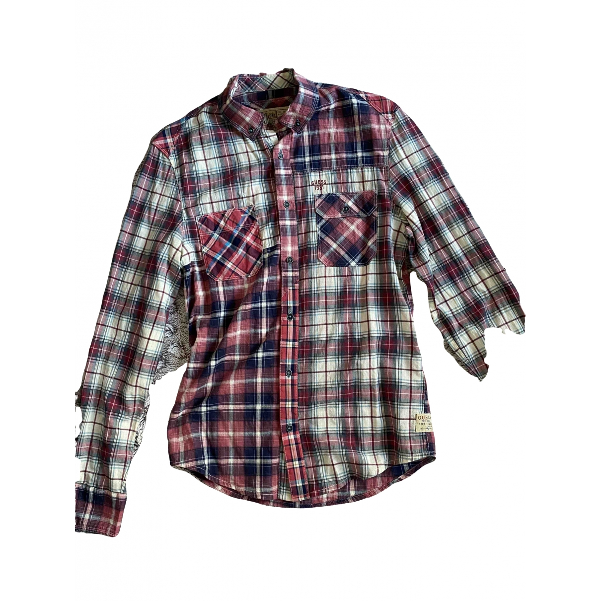 Guess - Chemises   pour homme en coton