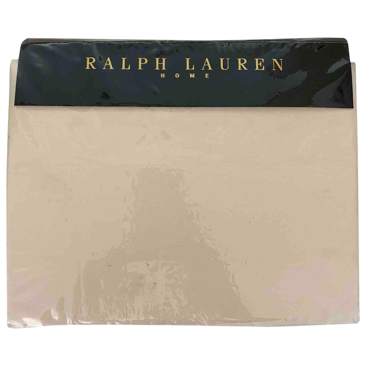 Ralph Lauren - Linge de maison   pour lifestyle en coton - beige