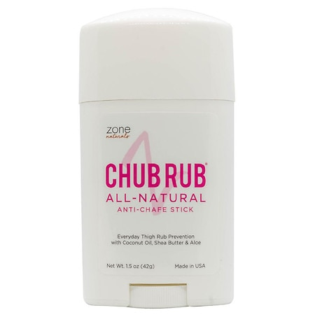 Zone Naturals ChubRub All Natural Anti Chafe Stick - 1.5 oz