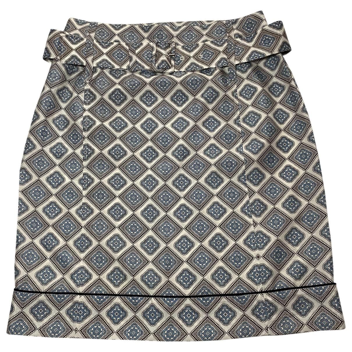 Mini falda de Seda Prada