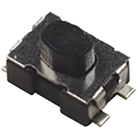 C & K IP40 Top Tactile Switch, Single Pole Single Throw (SPST) 10 mA 2.5mm Surface Mount