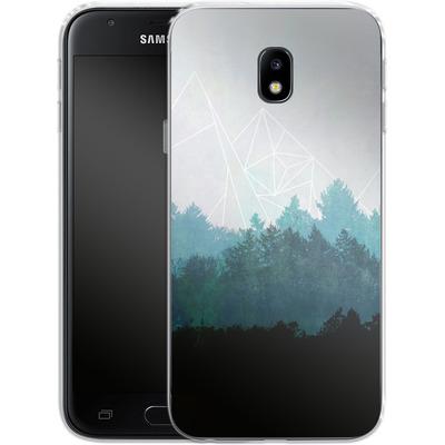 Samsung Galaxy J3 (2017) Silikon Handyhuelle - Woods Abstract von Mareike Bohmer