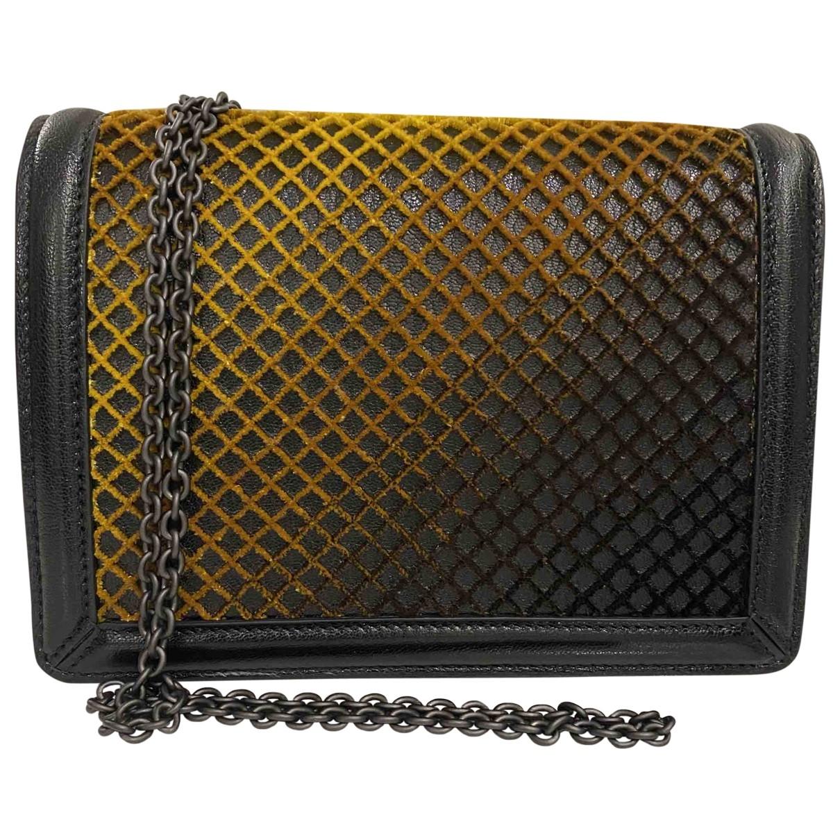 Bottega Veneta - Sac a main   pour femme en cuir - noir