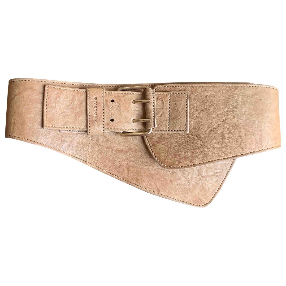 Givenchy \N Beige Leather belt for Women S International