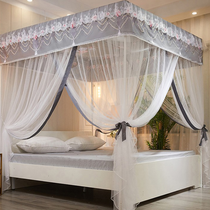 Girlie Folded Polyester Indoor Square Mosquito net