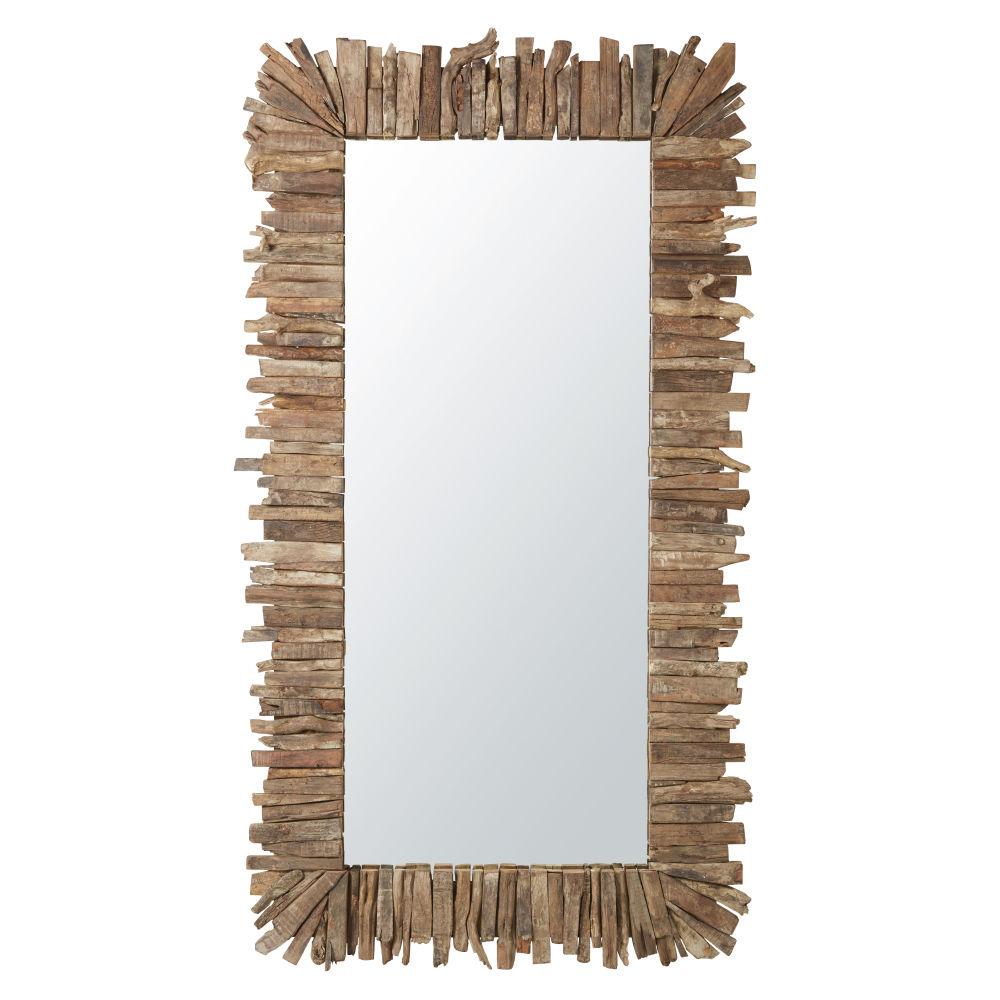 Spiegel in Lattenoptik 113x201