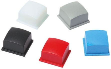 MEC Blue Modular Switch Cap for use with 3F Series Push Button Switch (10)