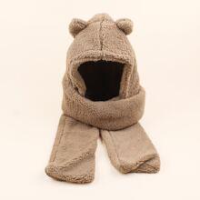 Solid Warm Hat