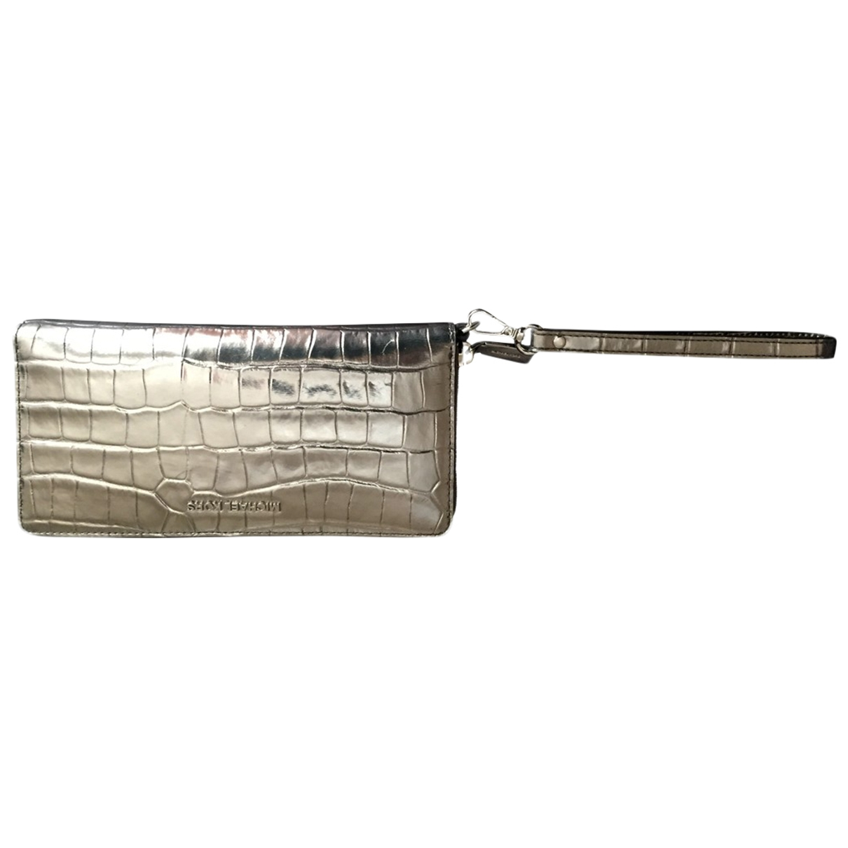 Michael Kors \N Silver Leather wallet for Women \N