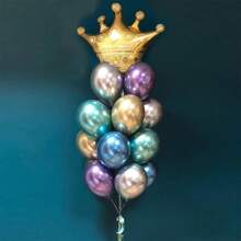 21 Stuecke Metallischer Balloon