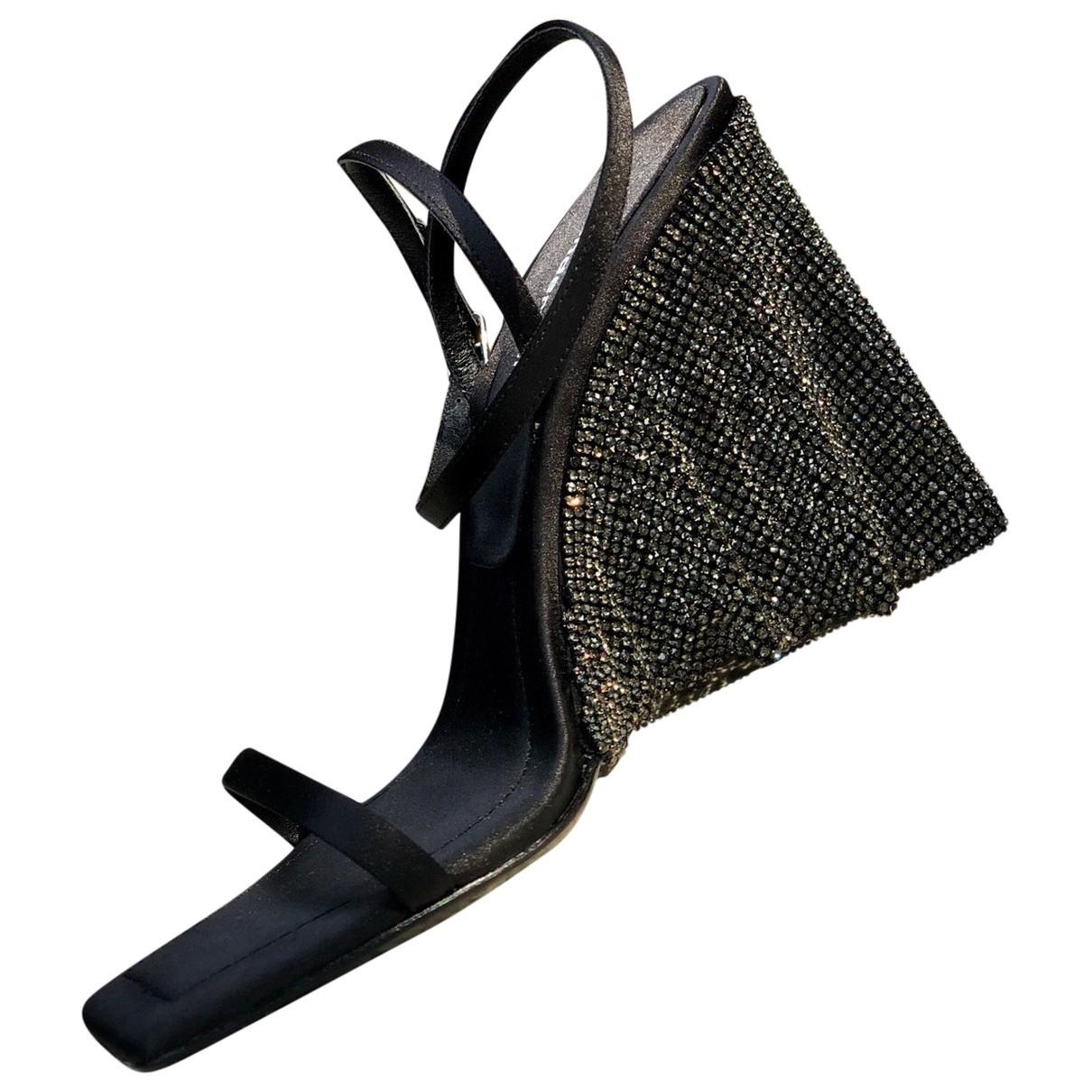 Alexander Wang \N Black Leather Sandals for Women 37 EU