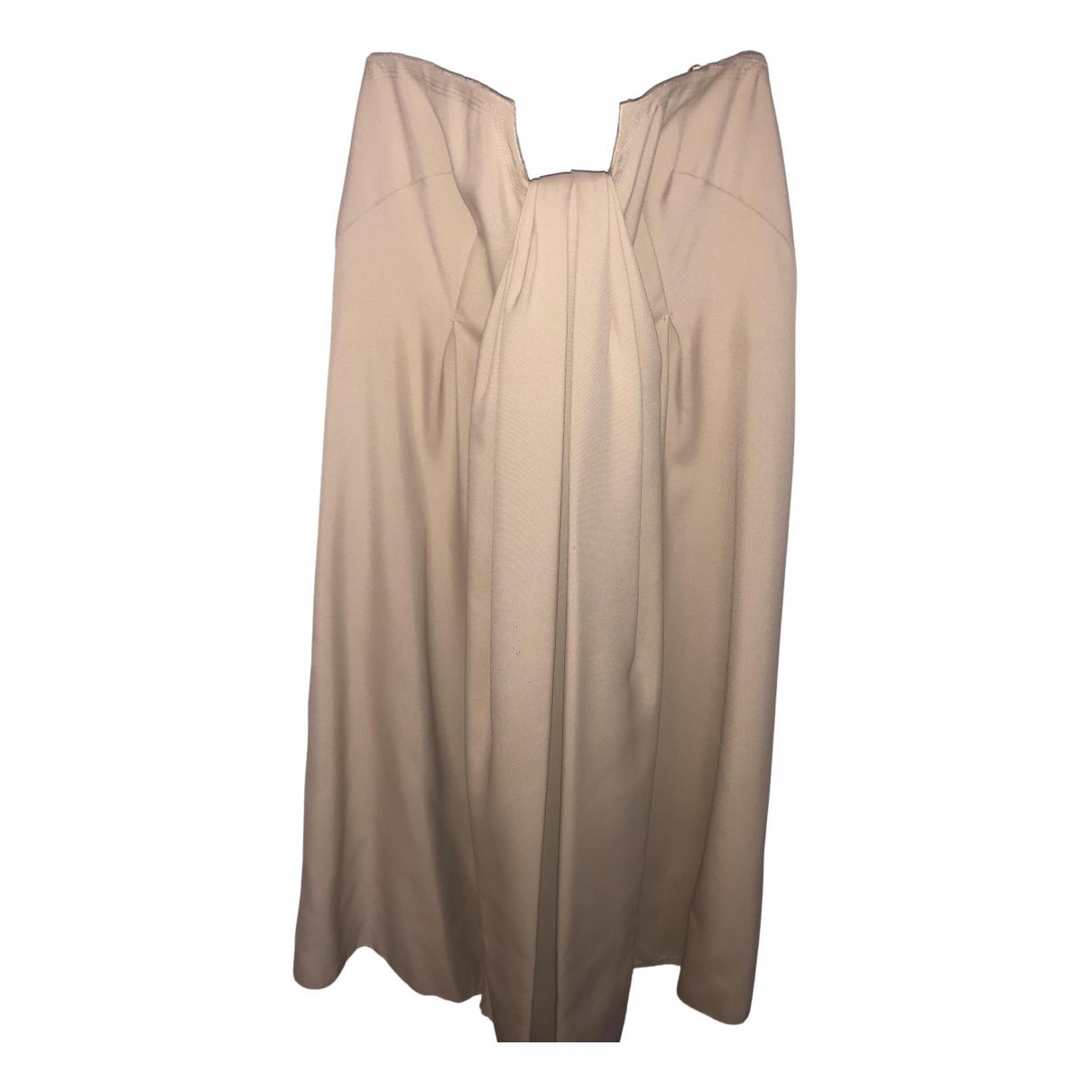 Prada \N Kleid in  Ecru Polyester