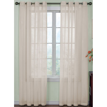 Arm & Hammer Curtain Fresh Odor-Neutralizing Sheer Panel, One Size , White