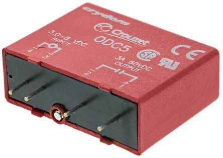 Sensata / Crydom , 5V dc Interface Relay Module, Through Hole Terminal , PCB Mount