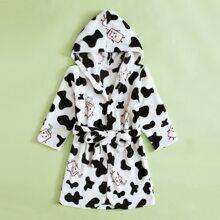 Homewear de niño pequeño Cinta Animal Casual