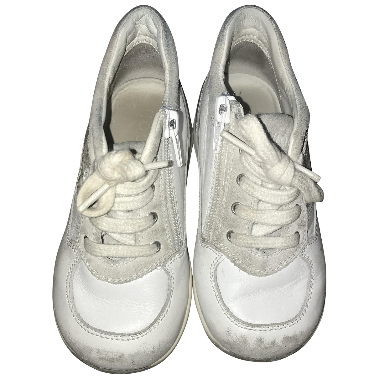 Hogan \N Sneakers in  Weiss Leder