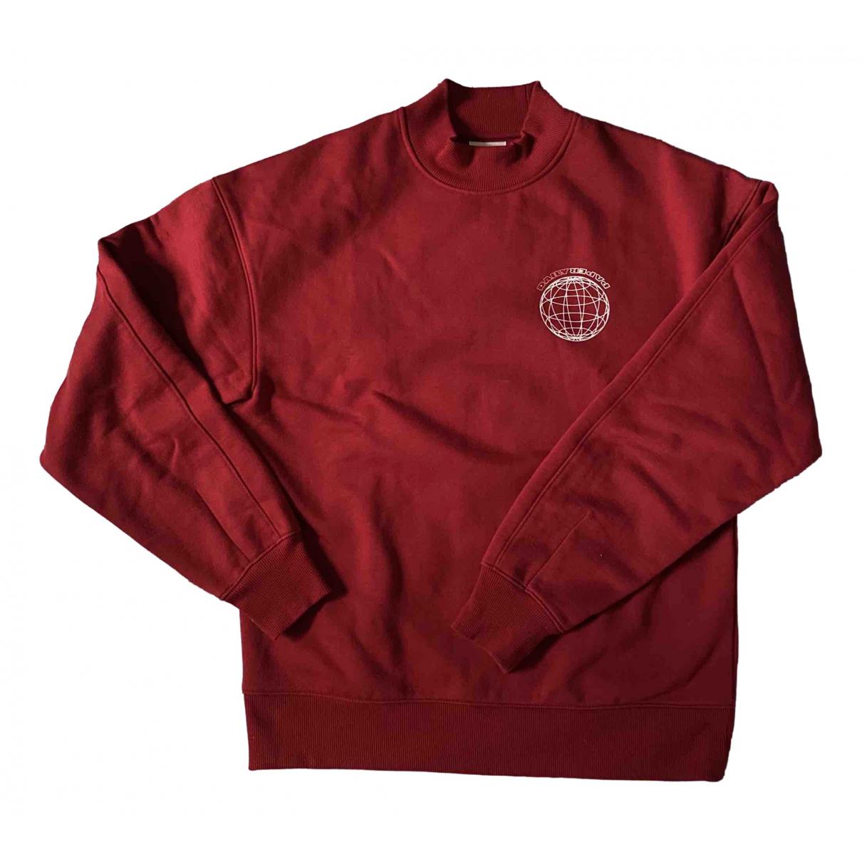 Daily Paper \N Pullover.Westen.Sweatshirts  in  Rot Baumwolle