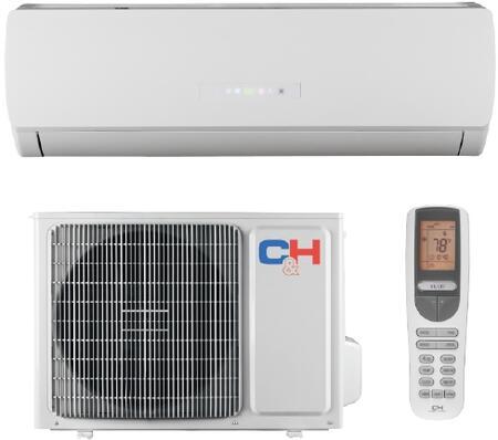 CH24KRL230V Karolina Mini Split System with Intelligent Pre-heating  Sleep Mode  Auto Clean  LED Display  Automatic Operation  Self-diagnosing