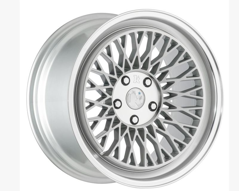 Klutch Silver SLC1 Wheel 18x9.5 5x100 30mm