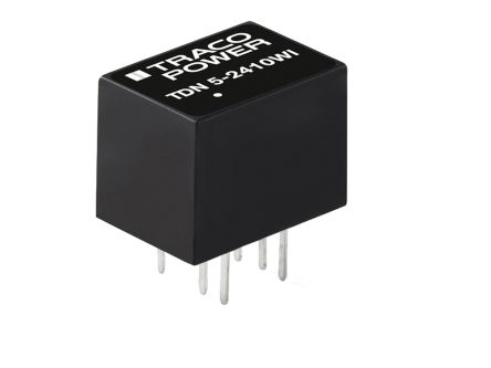 TRACOPOWER TDN 5WI 5W Isolated DC-DC Converter Through Hole, Voltage in 4.5 → 12 V dc, Voltage out 5V dc