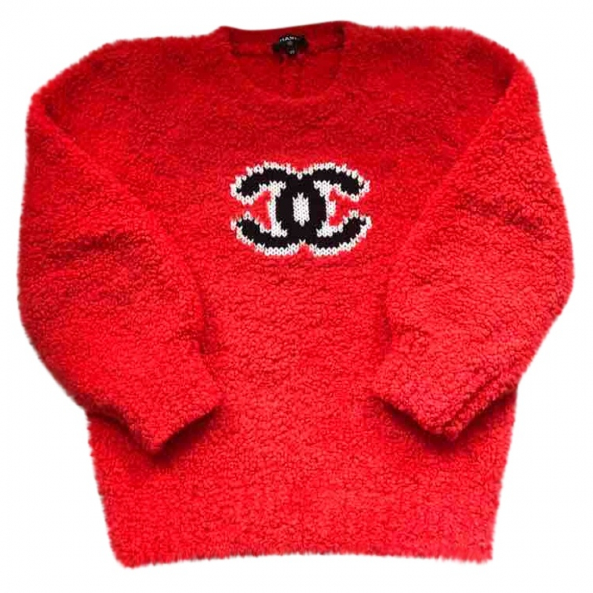 Chanel \N Red Wool Knitwear for Women 40 FR