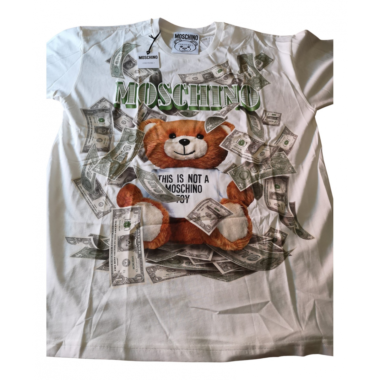 Moschino \N White Cotton T-shirts for Men S International