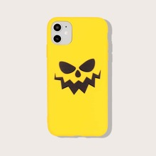 iPhone Schutzhuelle mit Halloween Teufel Muster