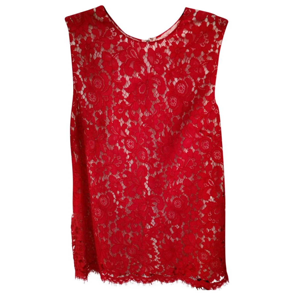 Dolce & Gabbana \N Top in  Rot Seide