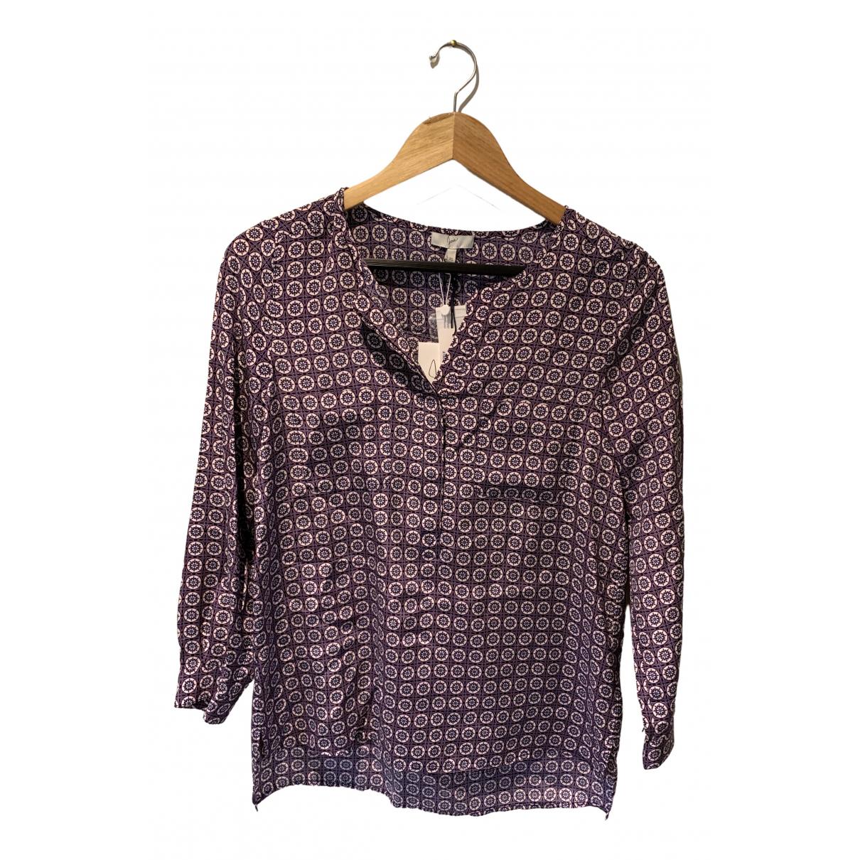 Joie - Top   pour femme en soie - violet
