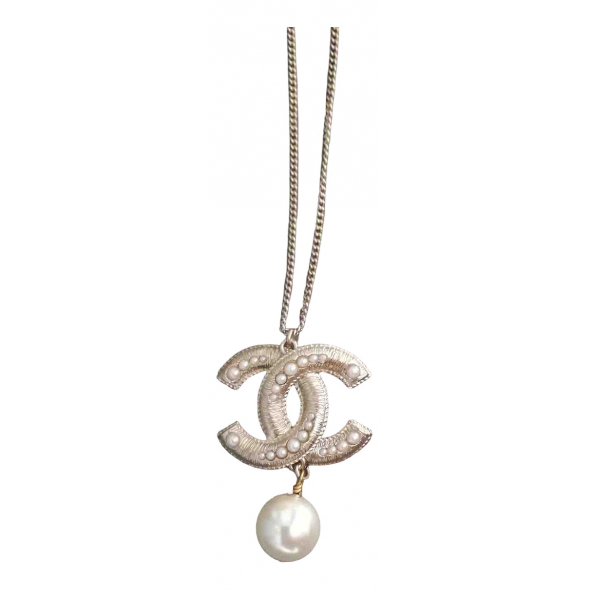 Chanel CC Gold Metal necklace for Women \N