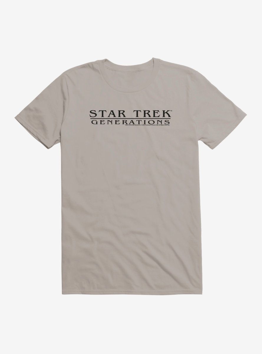 Star Trek Generations Title T-Shirt