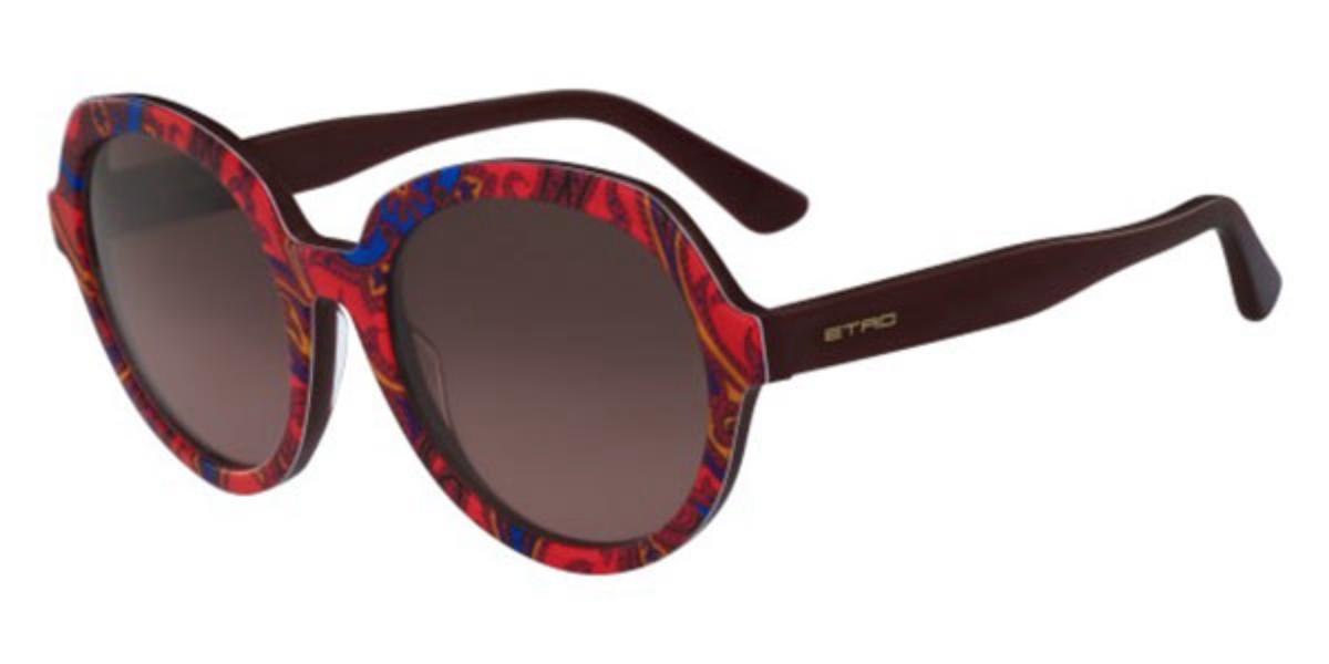 Etro ET 646S 607 Women's Sunglasses Red Size 56