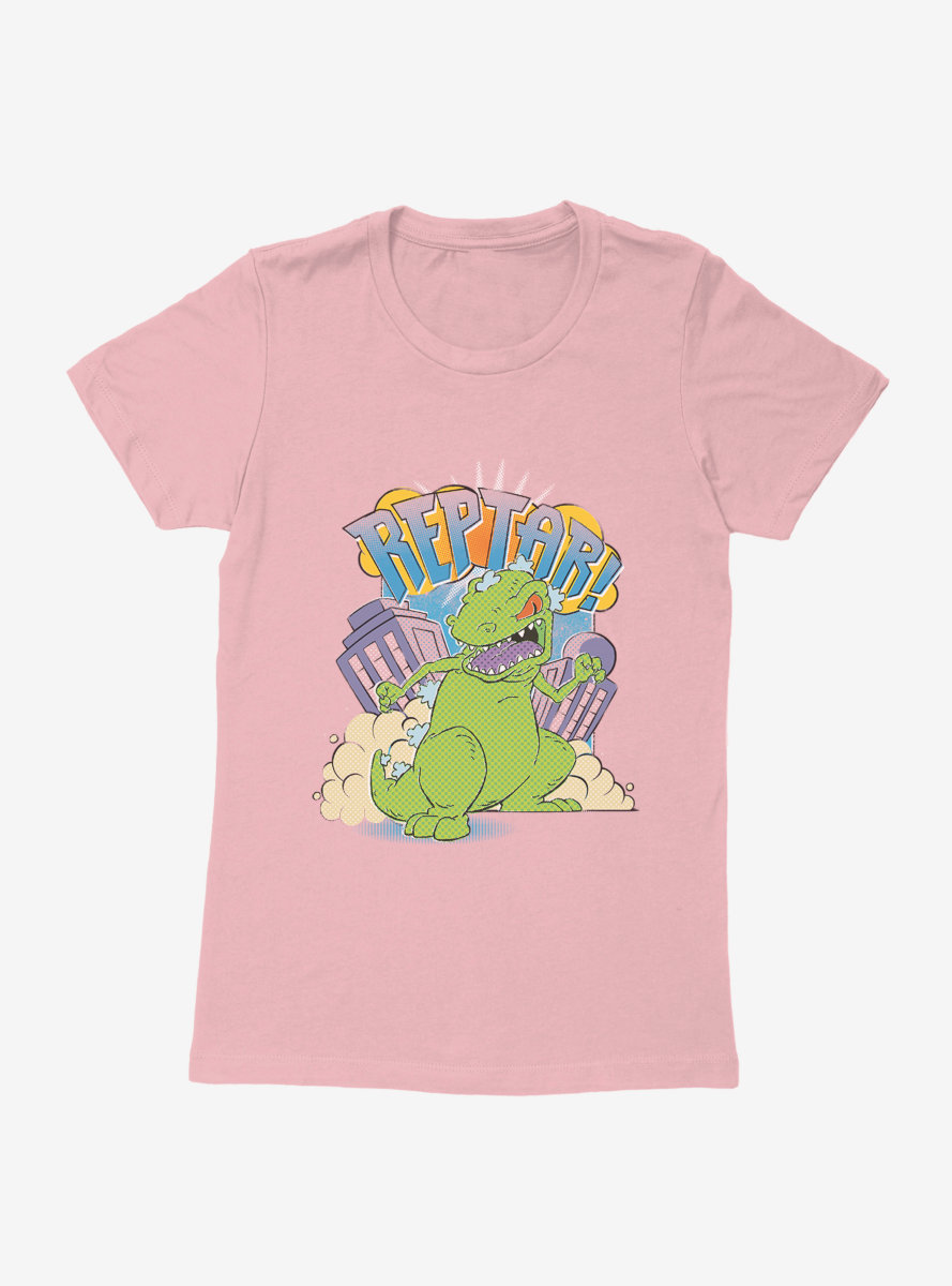 Rugrats Reptar Destruction Womens T-Shirt