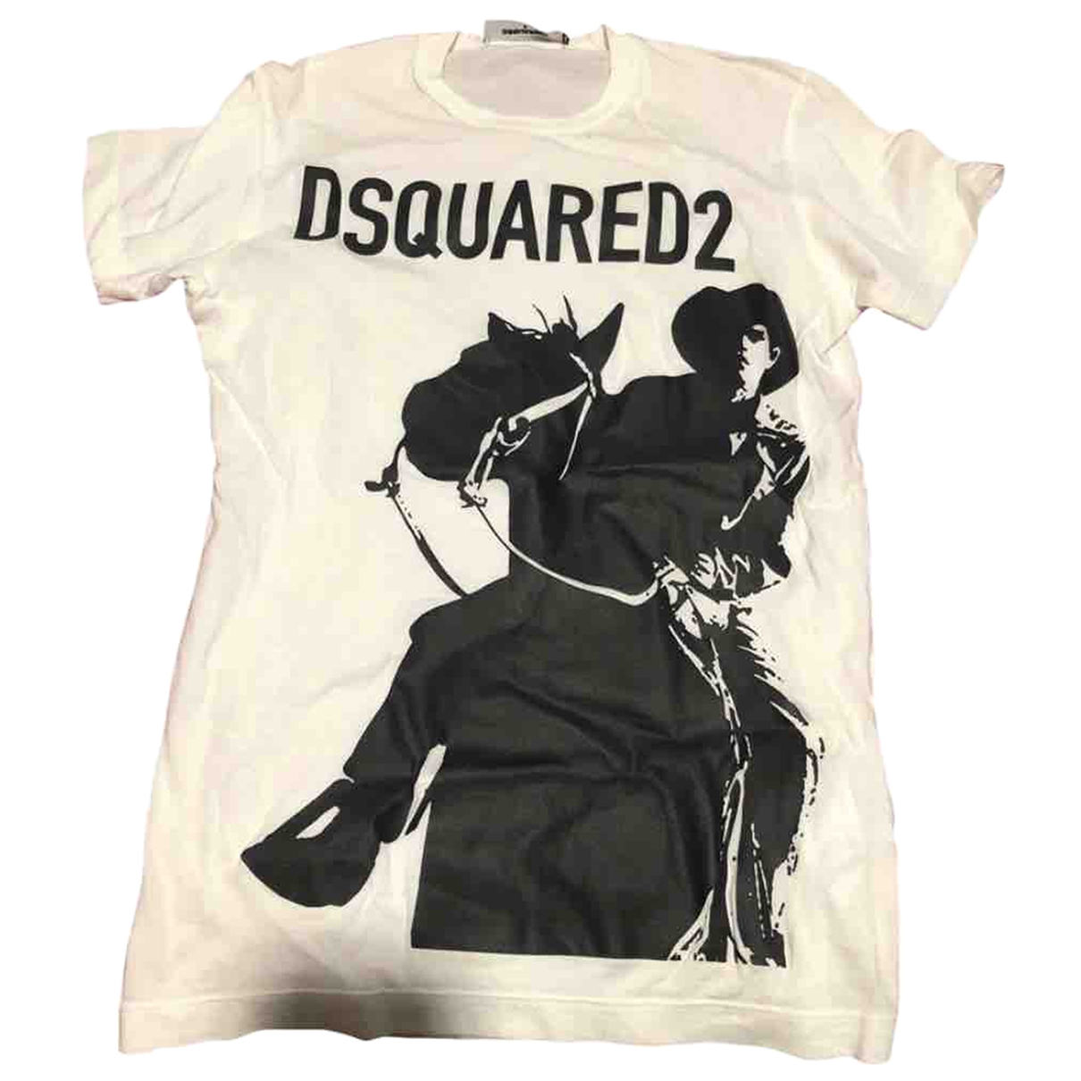 Dsquared2 \N T-Shirts in  Weiss Baumwolle
