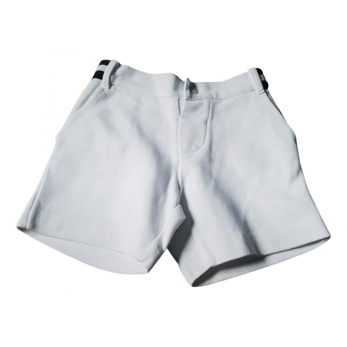 Jacadi - Short   pour enfant en coton - blanc