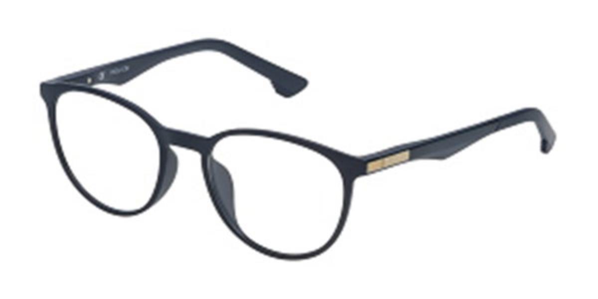 Police VK058 SPIKE 2 Kids 09NQ Kids' Glasses Blue Size 49 - Free Lenses - HSA/FSA Insurance - Blue Light Block Available