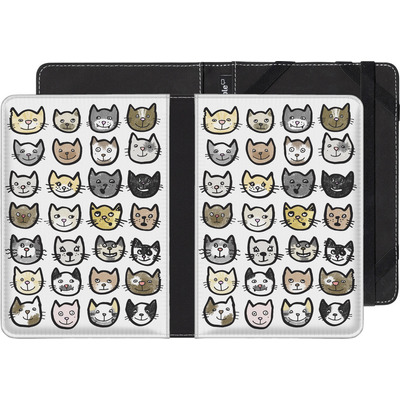 tolino shine eBook Reader Huelle - 28 Cats von caseable Designs