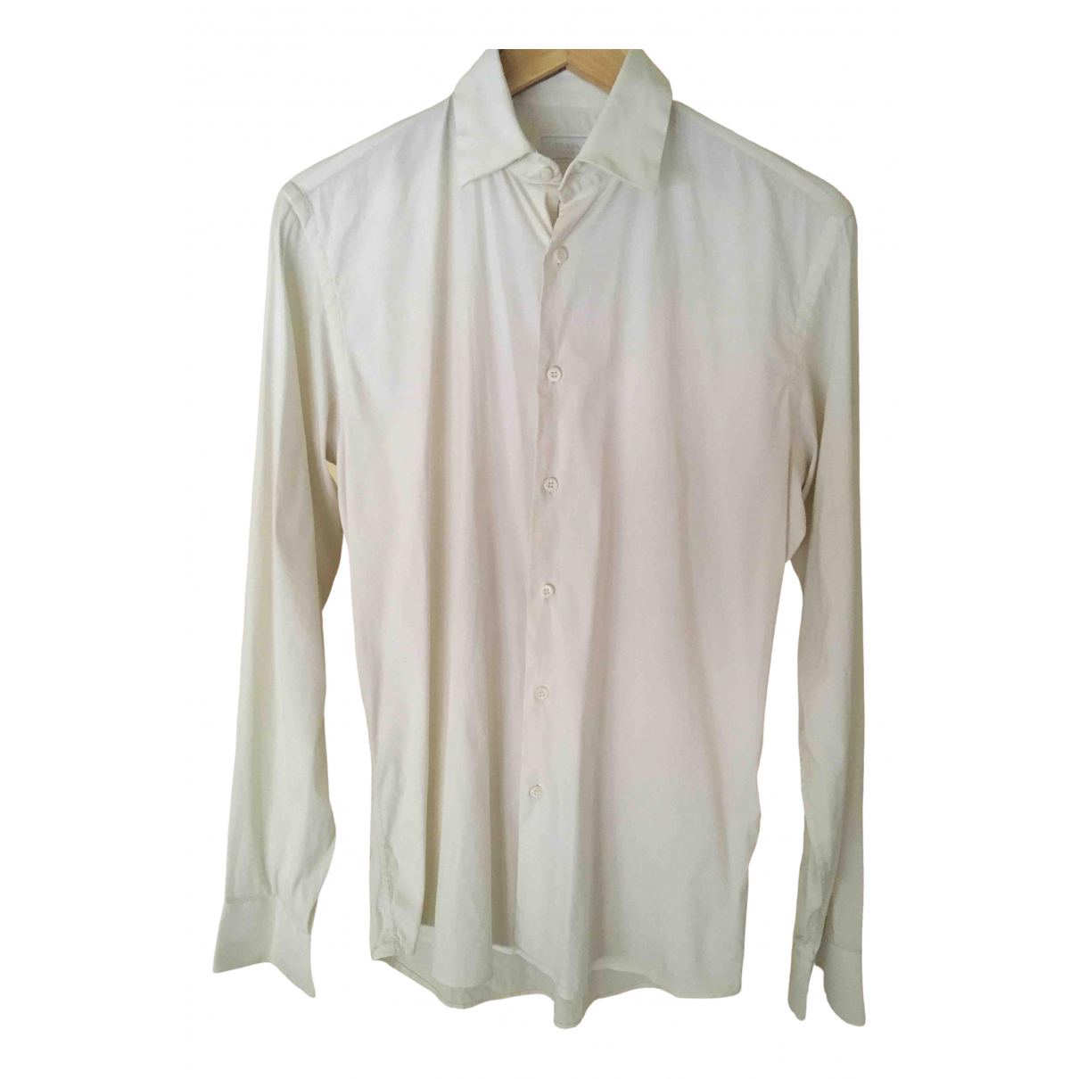 Prada \N Hemden in  Weiss Baumwolle