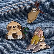 3pcs Cartoon Animal Design Brooch
