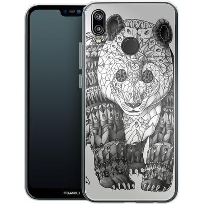 Huawei P20 Lite Silikon Handyhuelle - Panda von BIOWORKZ