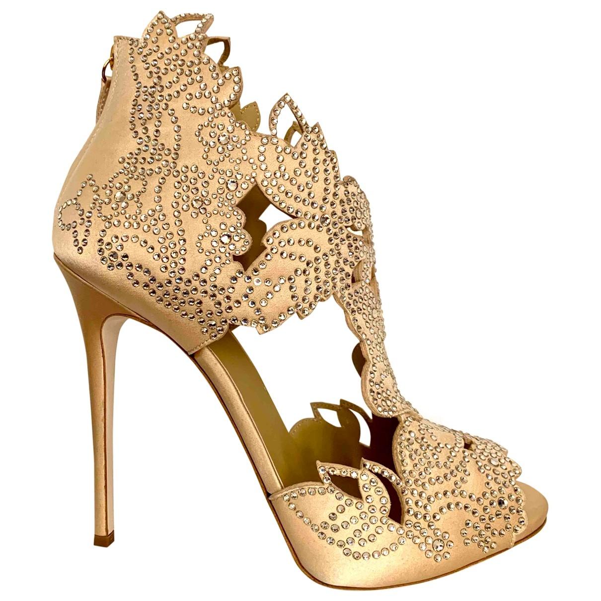 Sandalias de Cuero La Perla