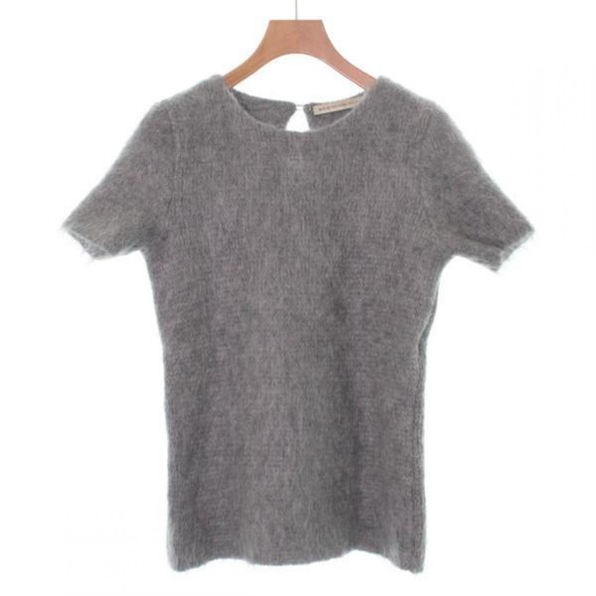 Balenciaga \N Top in  Grau Wolle