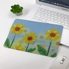 Sunflower Pattern Mouse Pad